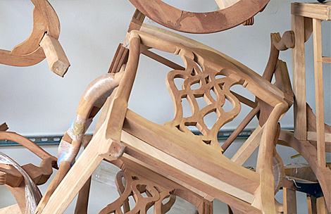 Unfinished Chair Frames available from Smith & Watson